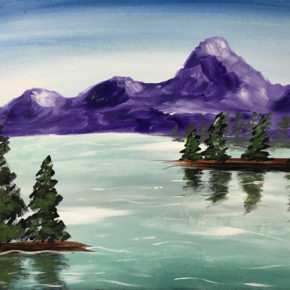 """""""Mountain View""""~December 9th, 2017 6:30-8:30 $25"""